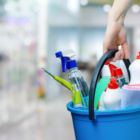 Cleaning and Janitorial Containers
