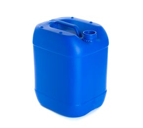 20L Plastic Blue UN Approved Stackable Jerry Can with 61mm Neck 850g