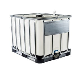 1000 Litre Reconditioned Plastic Natural IBC UN Approved